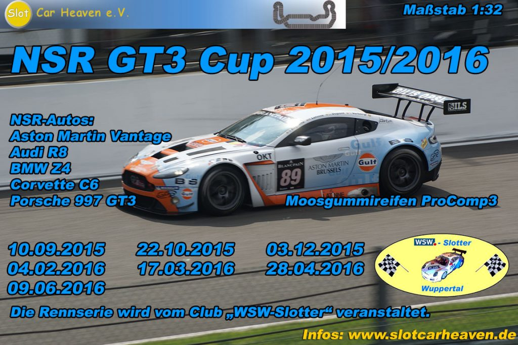 NSR GT3 Cup 2015/2016