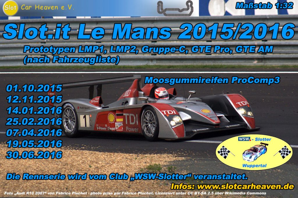 Slot.it Le Mans 2015/2016